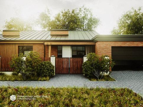 Визуализация проекта дома BR-502