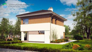 Проект частного дома A-009