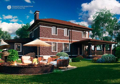 Проект кирпичного дома BR-701