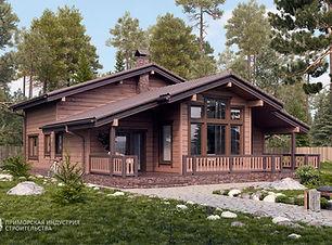 Деревянный дом для семмьи