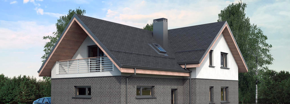 Проект дома с мансардой G-002