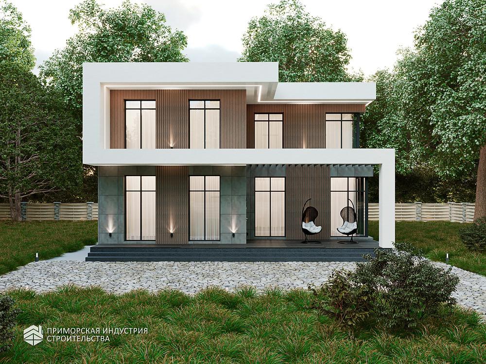 Уникальный проект дома