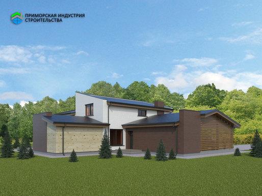 Проект загородного дома S-004