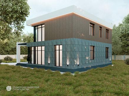 Проект современного дома SD-234