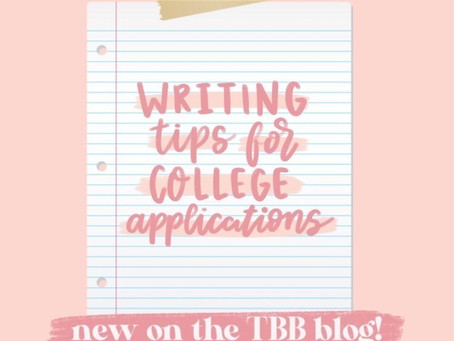 Writing Tips For College/Scholarship Essays
