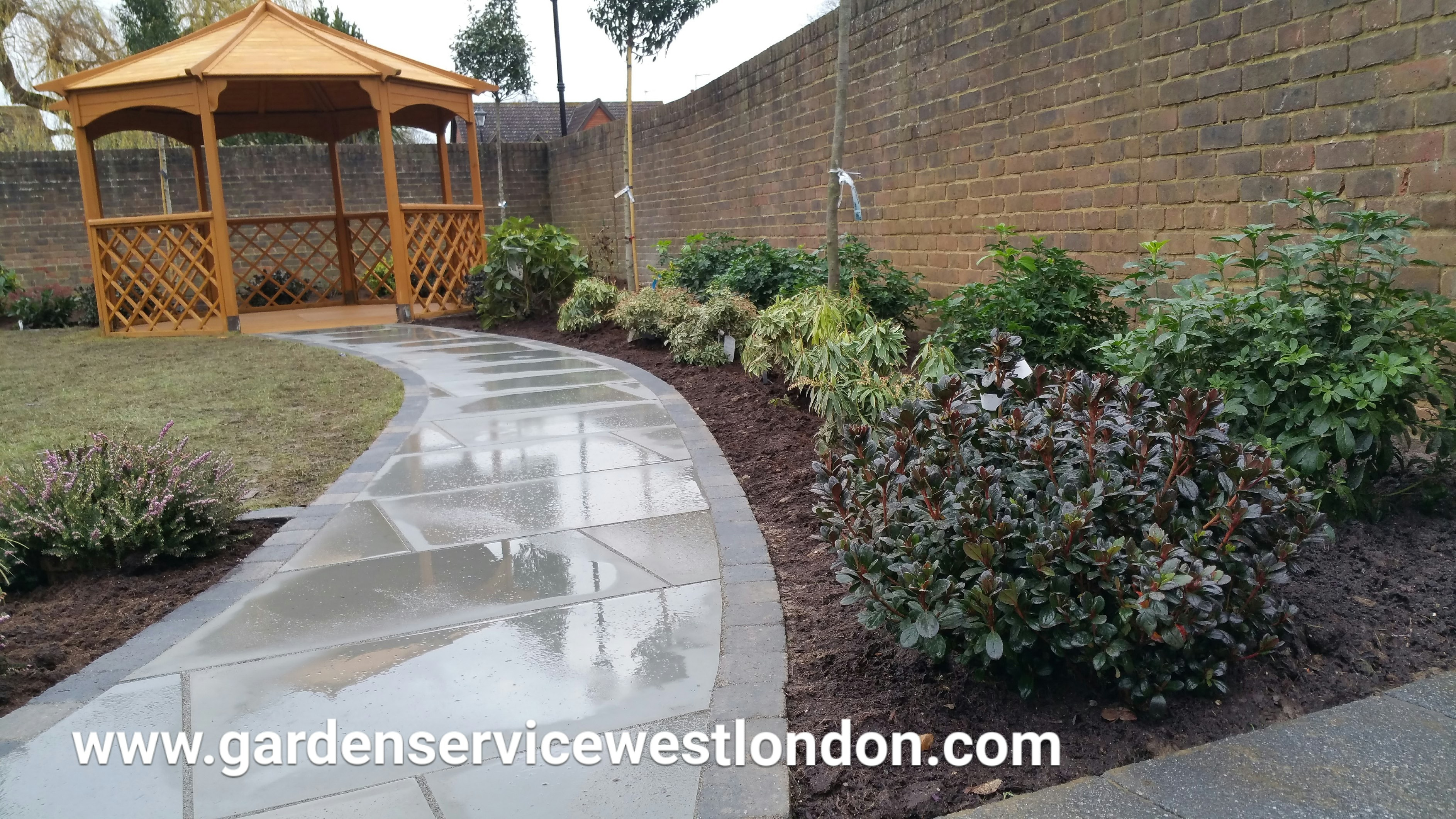 Garden Project in Osterley