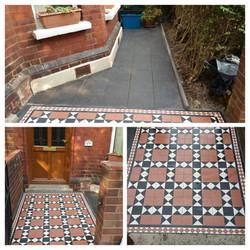 Victorian tiles in Richmond