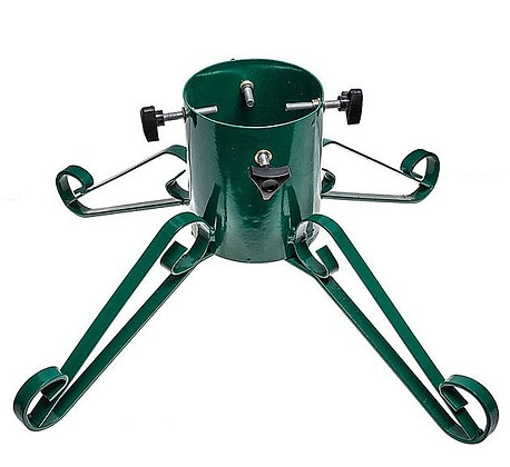 Traditional Wrought Iron 5'' Christmas Tree Stand -Green