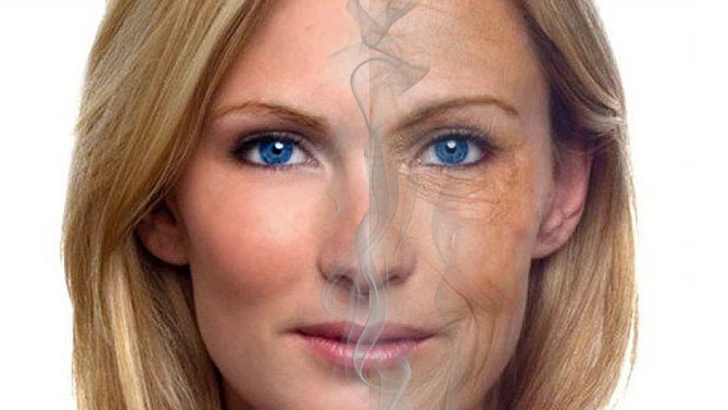 Como o cigarro afeta a estética de fumantes