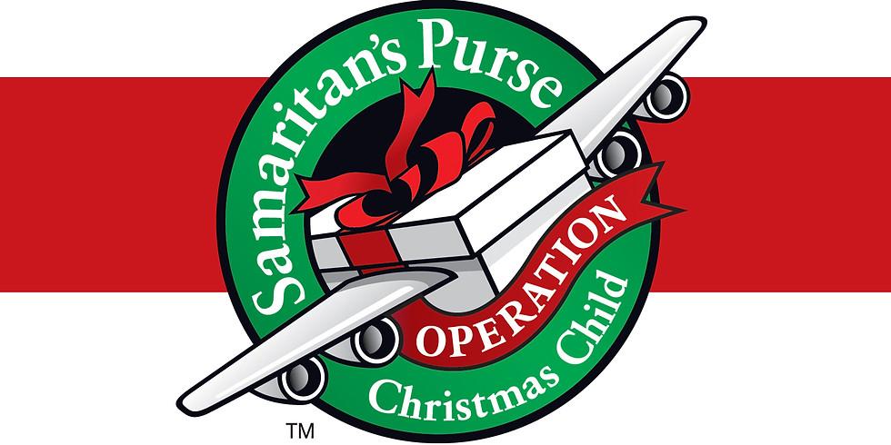 Operation Christmas Child Drive