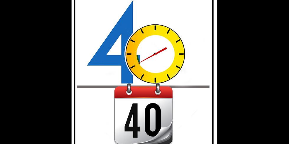 Lenten 40/40 Challenge