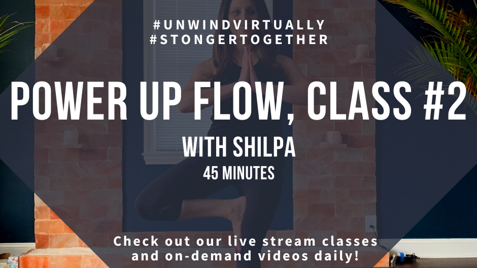 Power Up Flow with Shilpa, Class #2