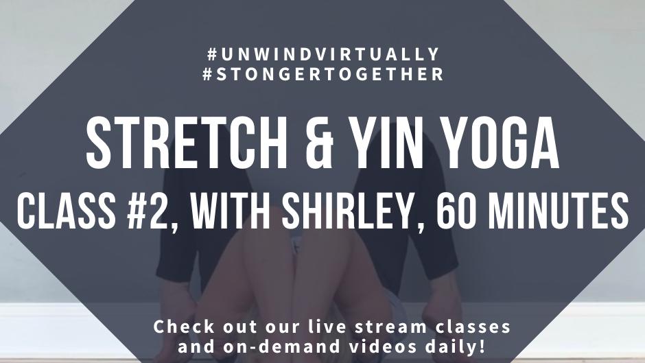 Stretch & Yin Yoga, Class #2