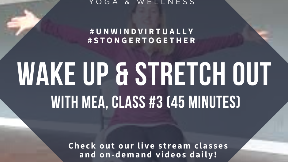 Wake Up & Stretch Out with Mea, Class #3