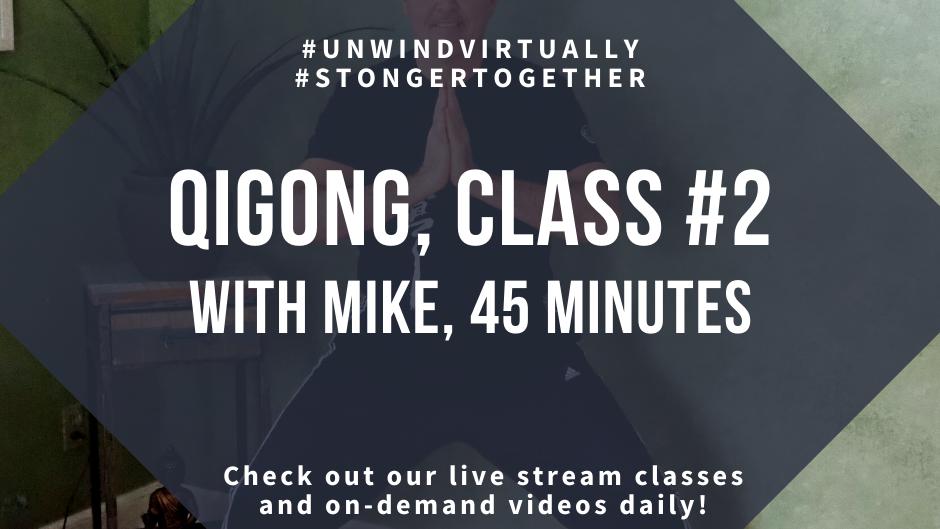 QiGong series, Class #2