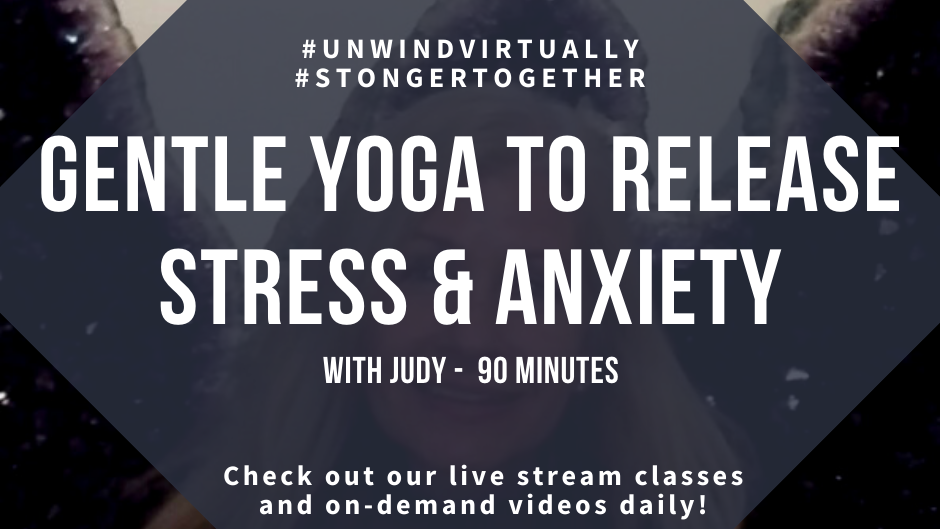 Gentle Yoga to Release Stress and Anxiety