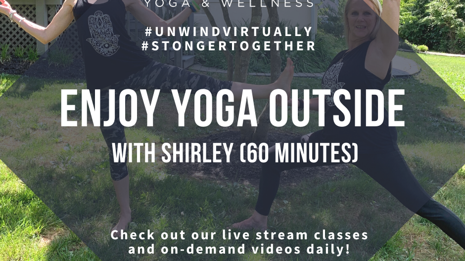 Enjoy Yoga Outside!