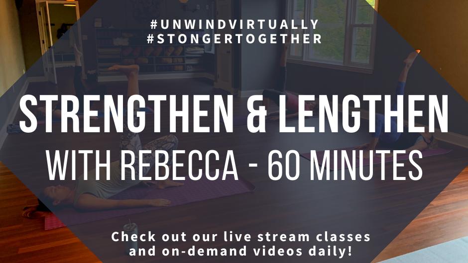 Strenghen & Lengthen Mat Pilates