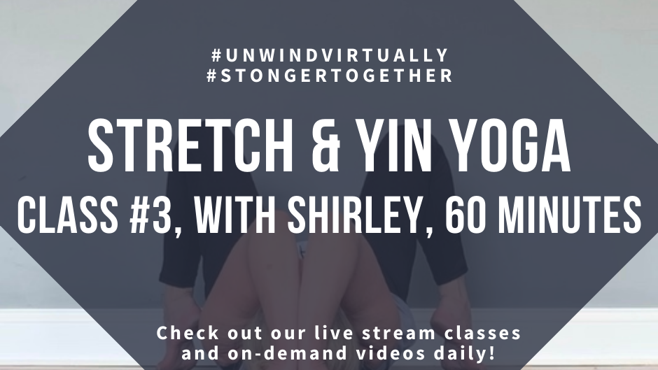 Stretch & Yin Yoga, Class #3