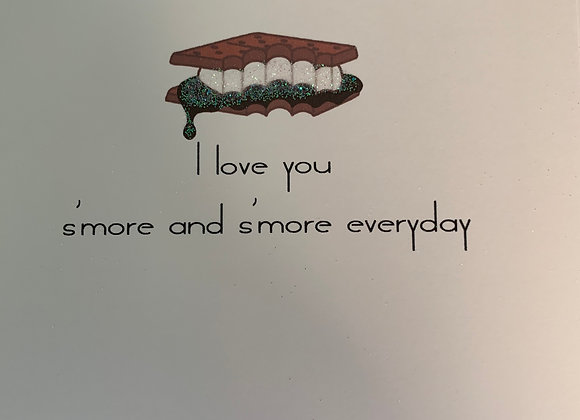 I Love You S'more & S'more - Greeting Card
