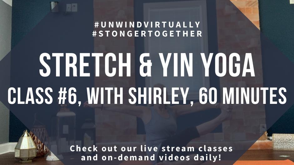Stretch & Yin Yoga, Class #5