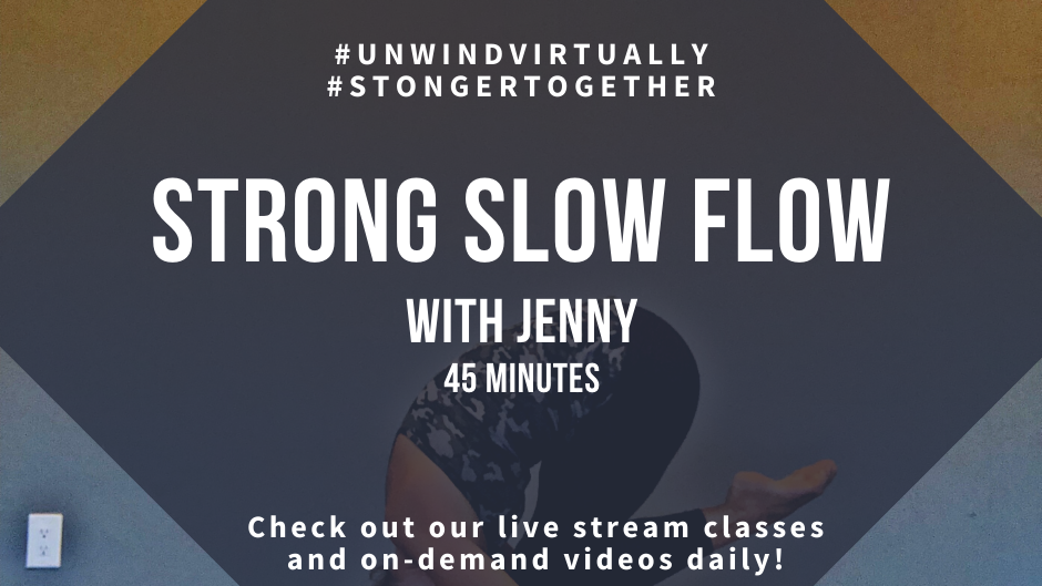 Strong Slow Flow with Jenny, Class #2