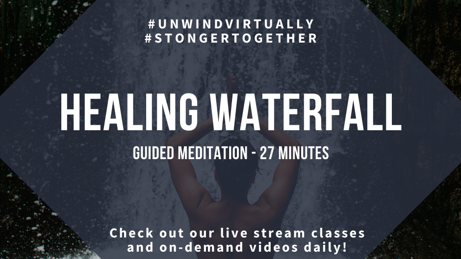Guided Meditation: Healing Waterfall