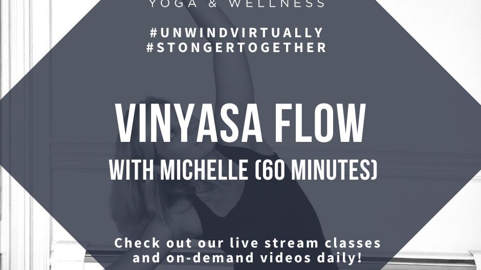 Vinyasa Flow with  Michelle