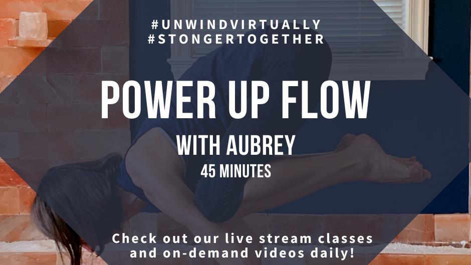 Power Up Flow with Aubrey