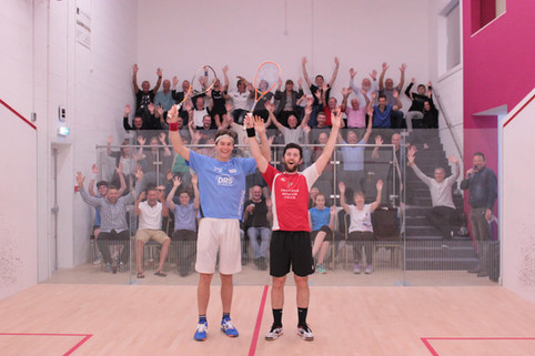 Selby and Pilley with the Spectators 2