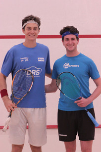 Cameron Pilley and Alex Gould at the 2016 Exhibition Match