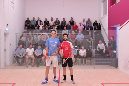 Selby and Pilley with Spectators 1