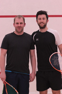 Matty Sherman and Daryl Selby at the 2016 Exhibition Match
