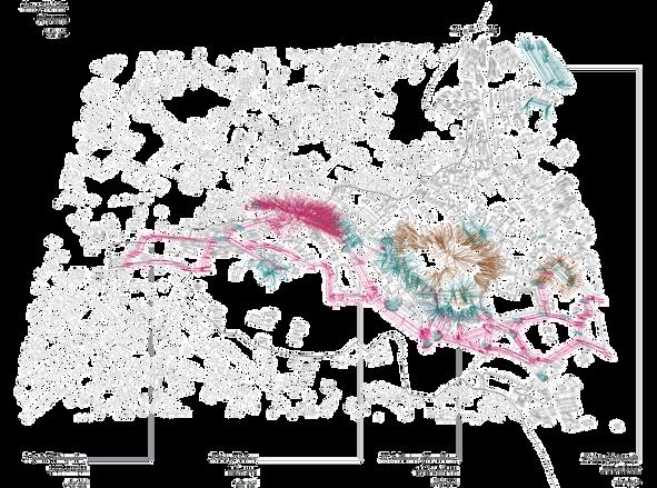 Urbicide Diagram Sites of urbicide in Hebron