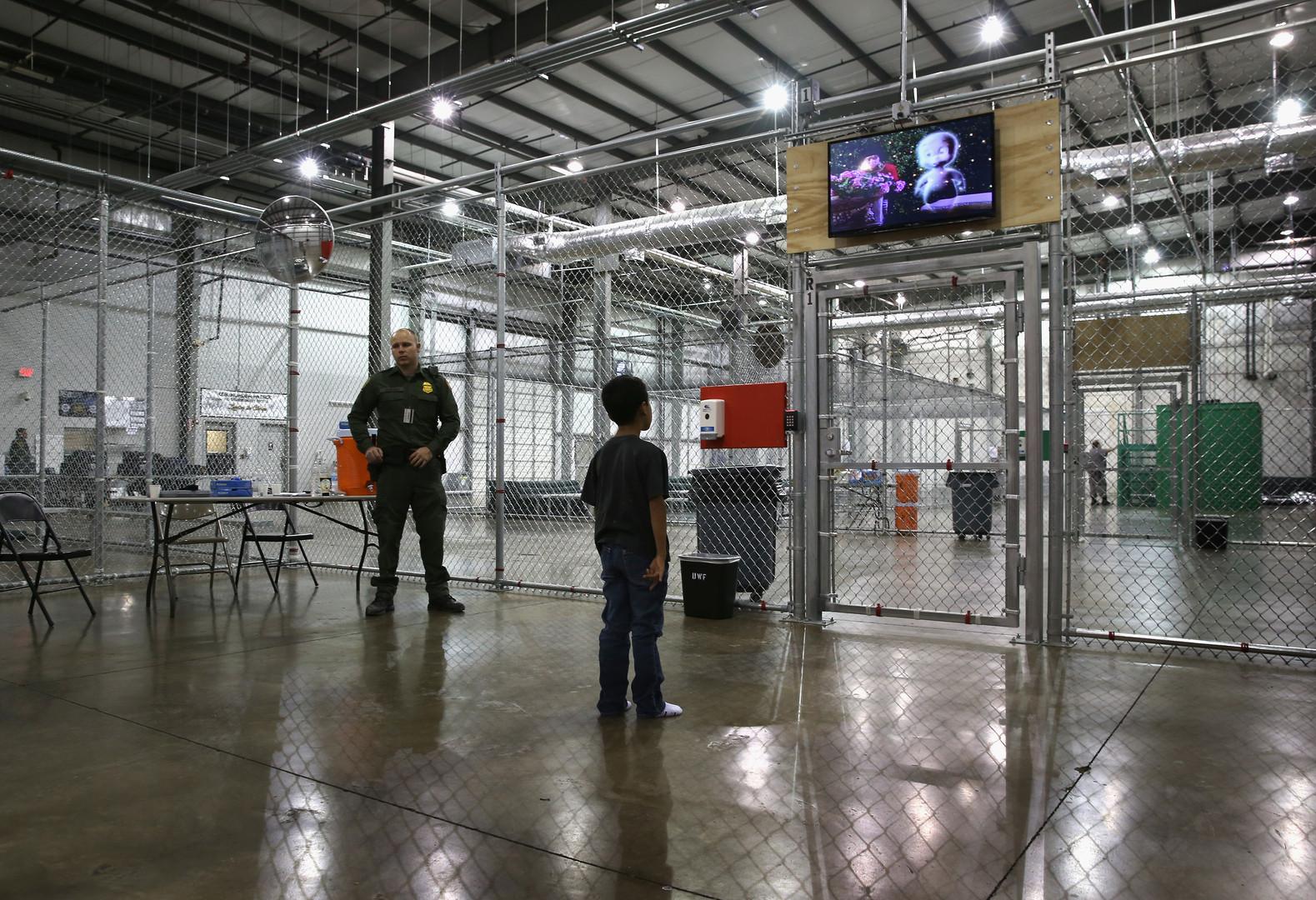 Unaccompanied Child in Detention Source: AP