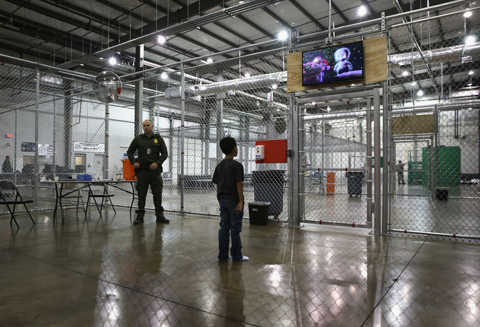 Detained Unaccompanied Minor
