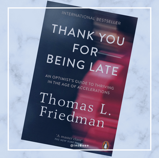 Thank You For Being Late Book
