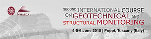 International Course on Geotechnical and Structural Monitoring 2015