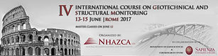International Course on Geotechnical and Structural Monitoring 2017