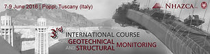 International Course on Geotechnical and Structural Monitoring 2016
