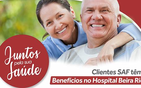 Hospital Beira Rio oferece descontos para associados do SAF