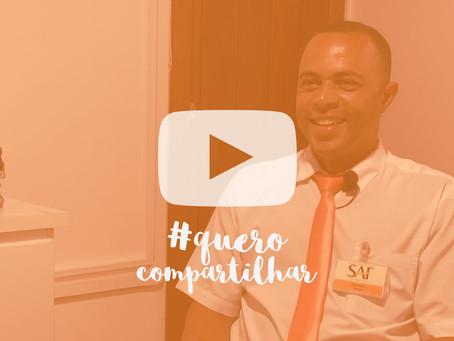 Vídeo #11 Quero Compartilhar - Convidado: Marcelo Pereira