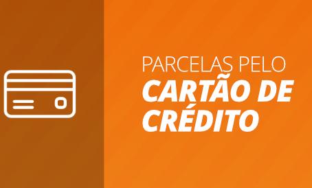Pague as parcelas do plano pelo cartão de crédito sem sair de casa