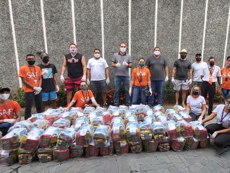 Grupo SAF inicia projeto para doação de 500 cestas básicas na região