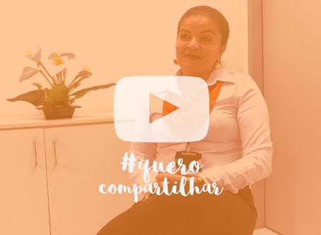 Vídeo #8 Quero Compartilhar - Convidada: Katiana Gois