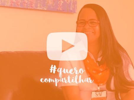 Vídeo #12 Quero Compartilhar - Convidado: Neyde Santos