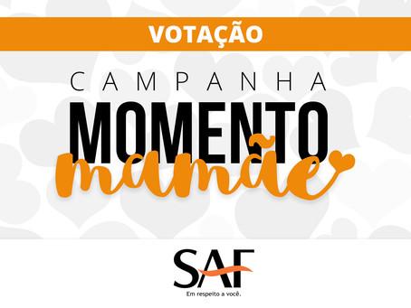 Votação:  Campanha Momento Mamãe