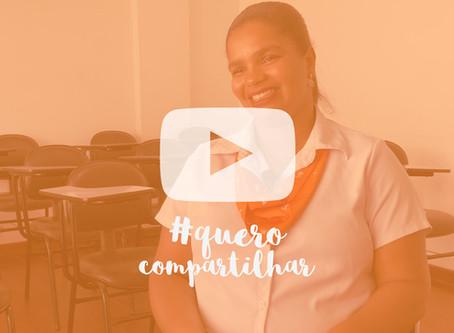 Vídeo #9 Quero Compartilhar - Convidada: Elaine Cristina
