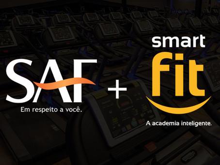 Desconto na Smart Fit para associados do SAF