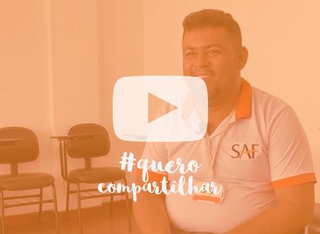 Vídeo #10 Quero Compartilhar - Convidado: Caio Vieira